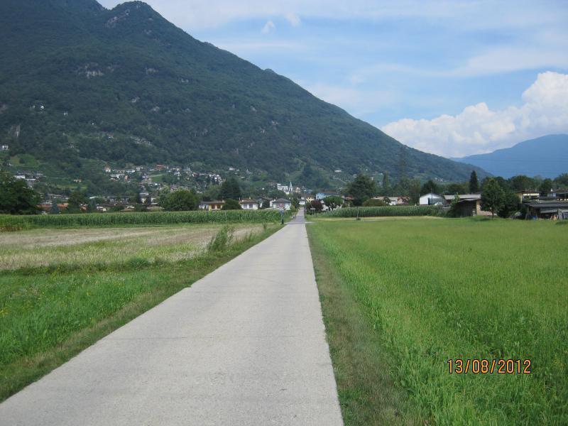 Fietspad nabij Lago Maggiore 2