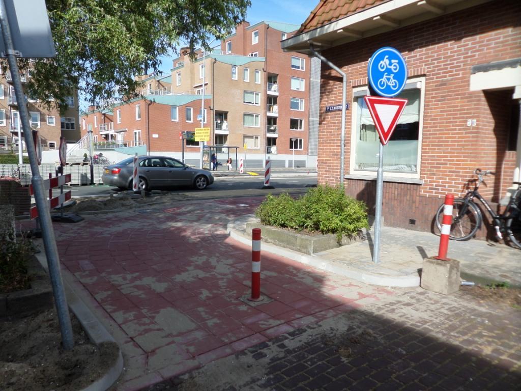 paaltje bij PL Takstraat