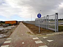 Nieuw fietspad bij Sportpark Vrijburg