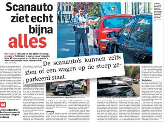Gaat Stadsbeheer Rotterdam automatisch op slordig parkeren controleren?