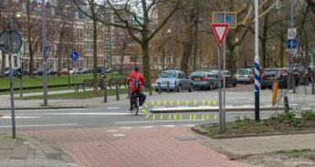 Gevaarlijk nieuw obstakel op Kruising Spoorsingel Walenburgerweg