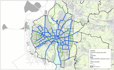 Fietsroutenetwerk Maastricht