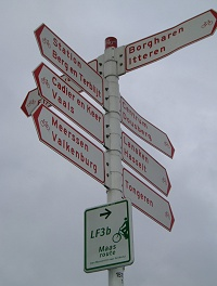 Zonder kilometeraanduidingen