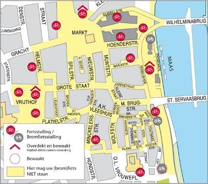 Het centrum van Maastricht