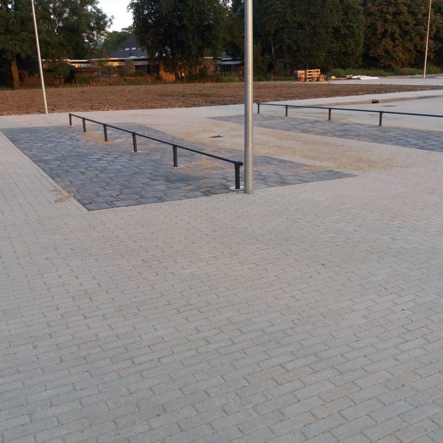 plaats waar fietsen kunnen worden gezet