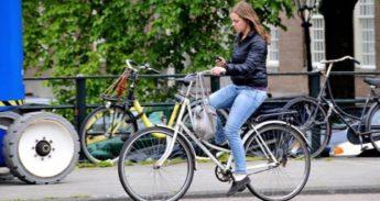 app verbod op de fiets