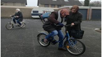 De fiets is een voertuig voor ontmoeting