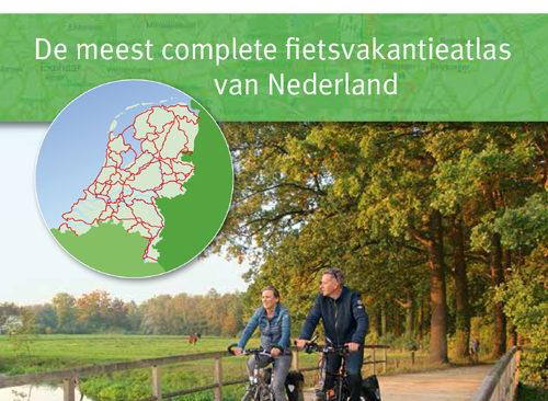Watervaste kaarten in geactualiseerde fietsvakantieatlas