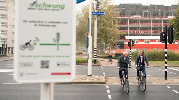 Sneller en langer groen voor fietsers in Den Bosch