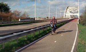 Snelle fietsroute van Zaltbommel naar 's-Hertogenbosch waarschijnlijk via Hogeweg