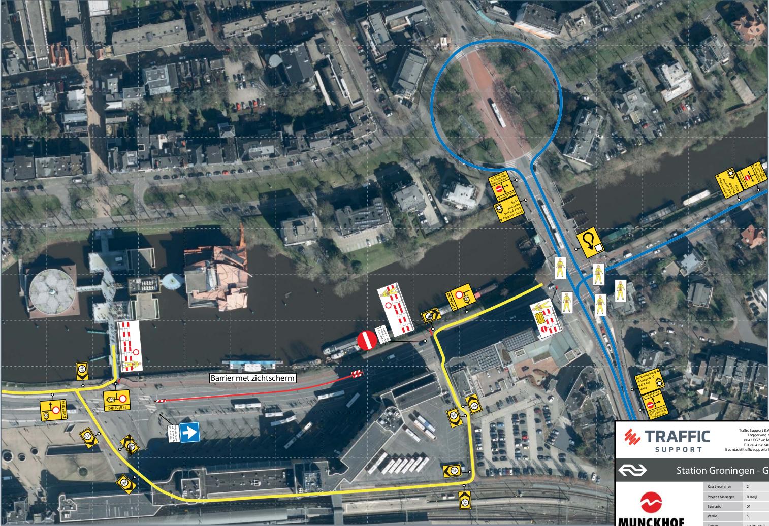 Stationsweg-fietsomleiding