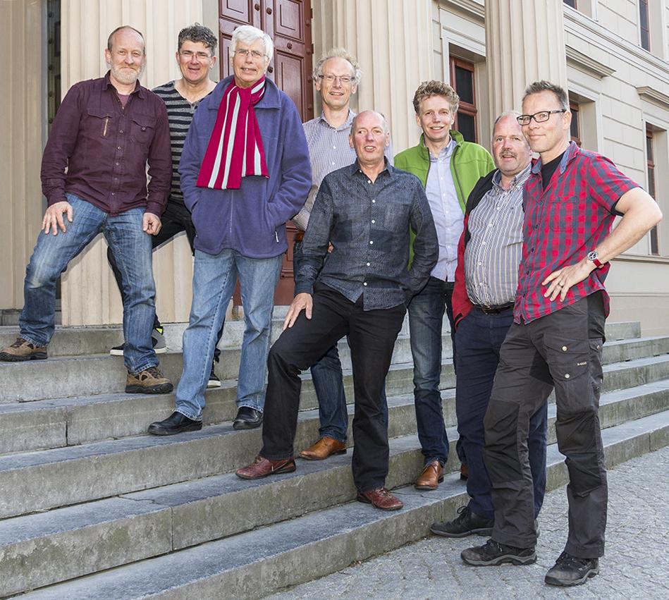 Foto: bestuursleden Fietsersbond-Zwolle