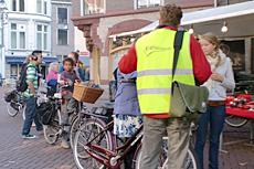 Fietsverlichtingsactie Zwolle