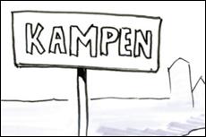 Schetsidee fietsroute Zwolle-Kampen