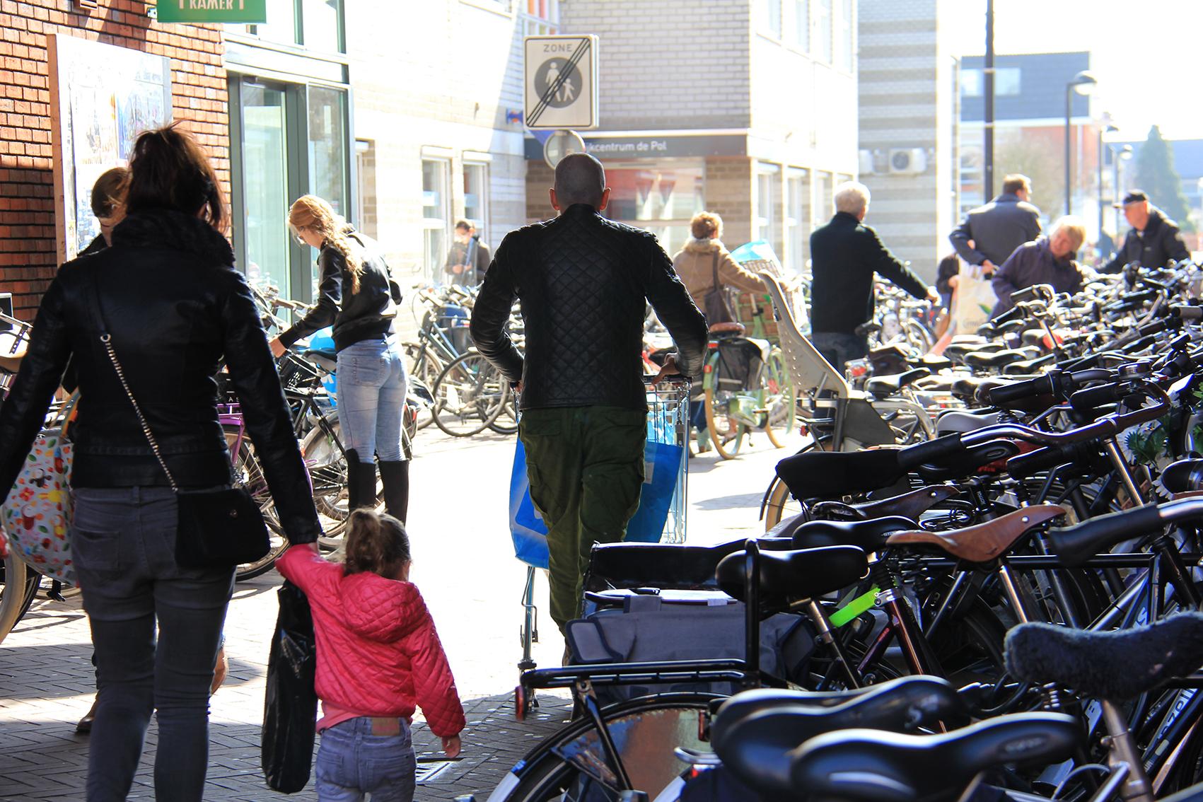 Fietsparkeren Winkelcentrum Zwolle-Zuid