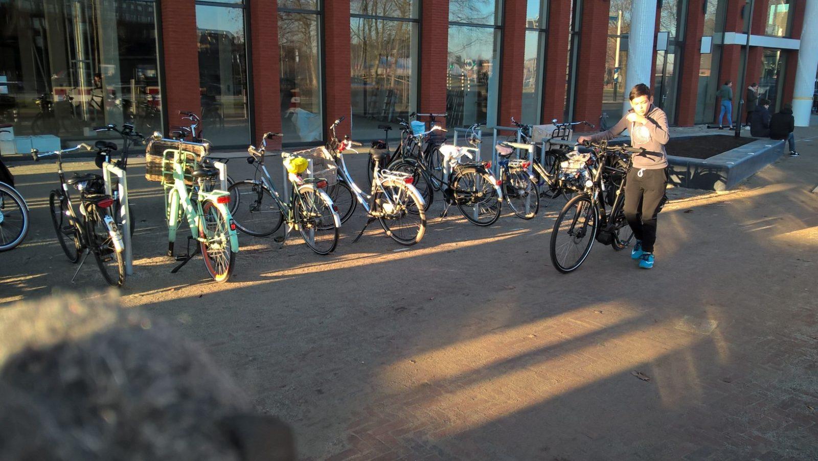Foto: Pathé bioscoop Zwolle voordat het druk werd.