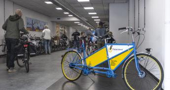 Opening fietsenstalling
