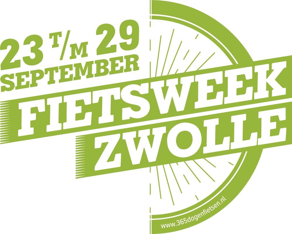 Logo Fietsweek 2017 Zwolle