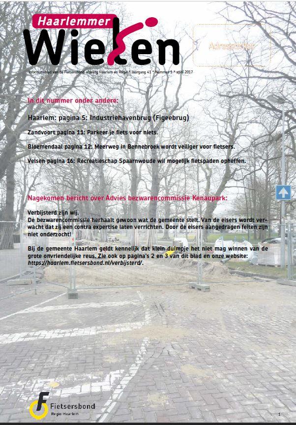 Haarlemmer Wielen nr 1 april 20-17
