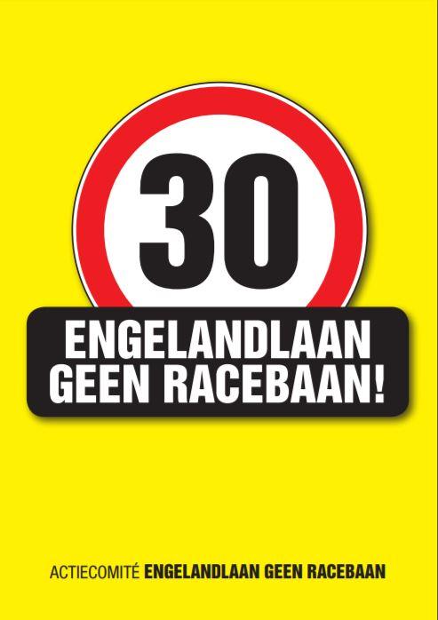 Actie 30km-Engelandlaan