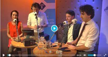 Filmpje van het verkiezingsdebat met Tijs van den Brink in de Haarlemse Toneelschuur
