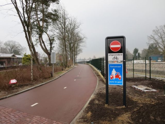 Begin van de F35 in Nijverdal