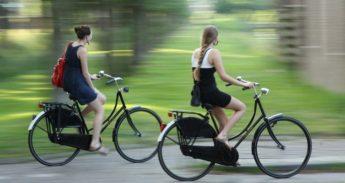 Emmen-fietsers
