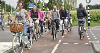 Dutch Cyclists, Etten-Leur