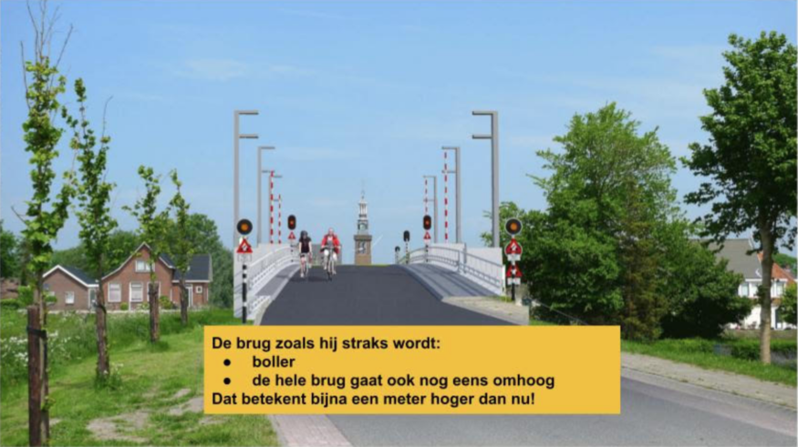 De brug zoals die wordt