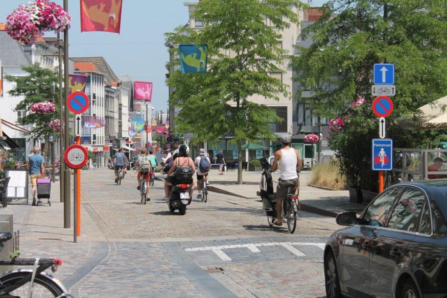 Fietsstraat-mechelen