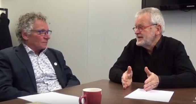 Wim Bot en Dick Buursink