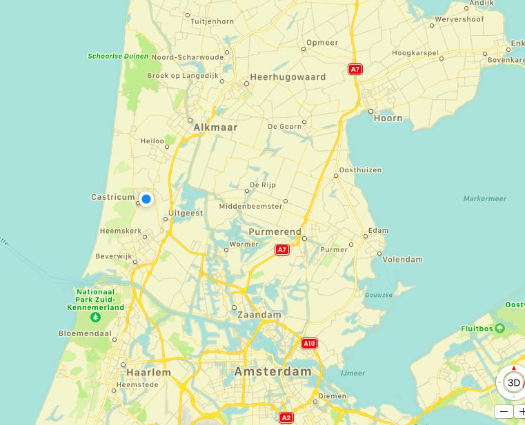 Kaart-regio