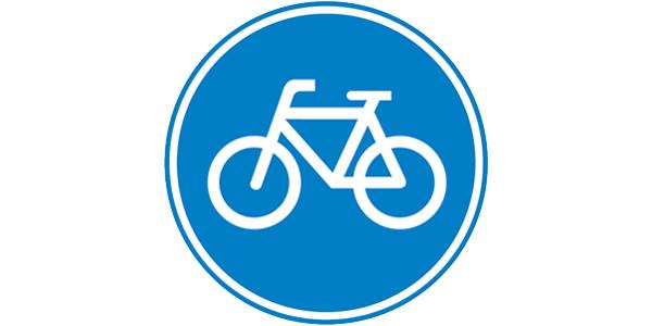 bord-verplicht-fietspad