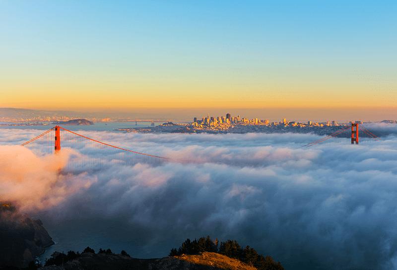 Un microclimat au Palais des congrès de San Francisco