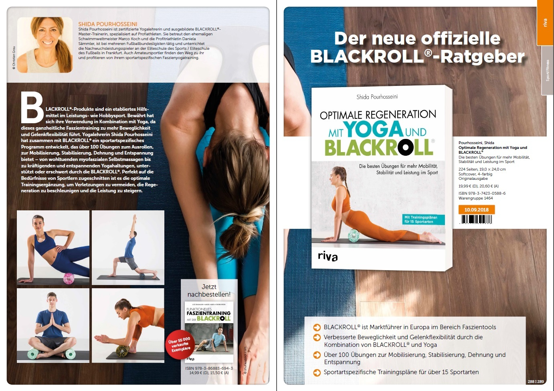Optimale Regeneration mit BLACKROLL® und Yoga