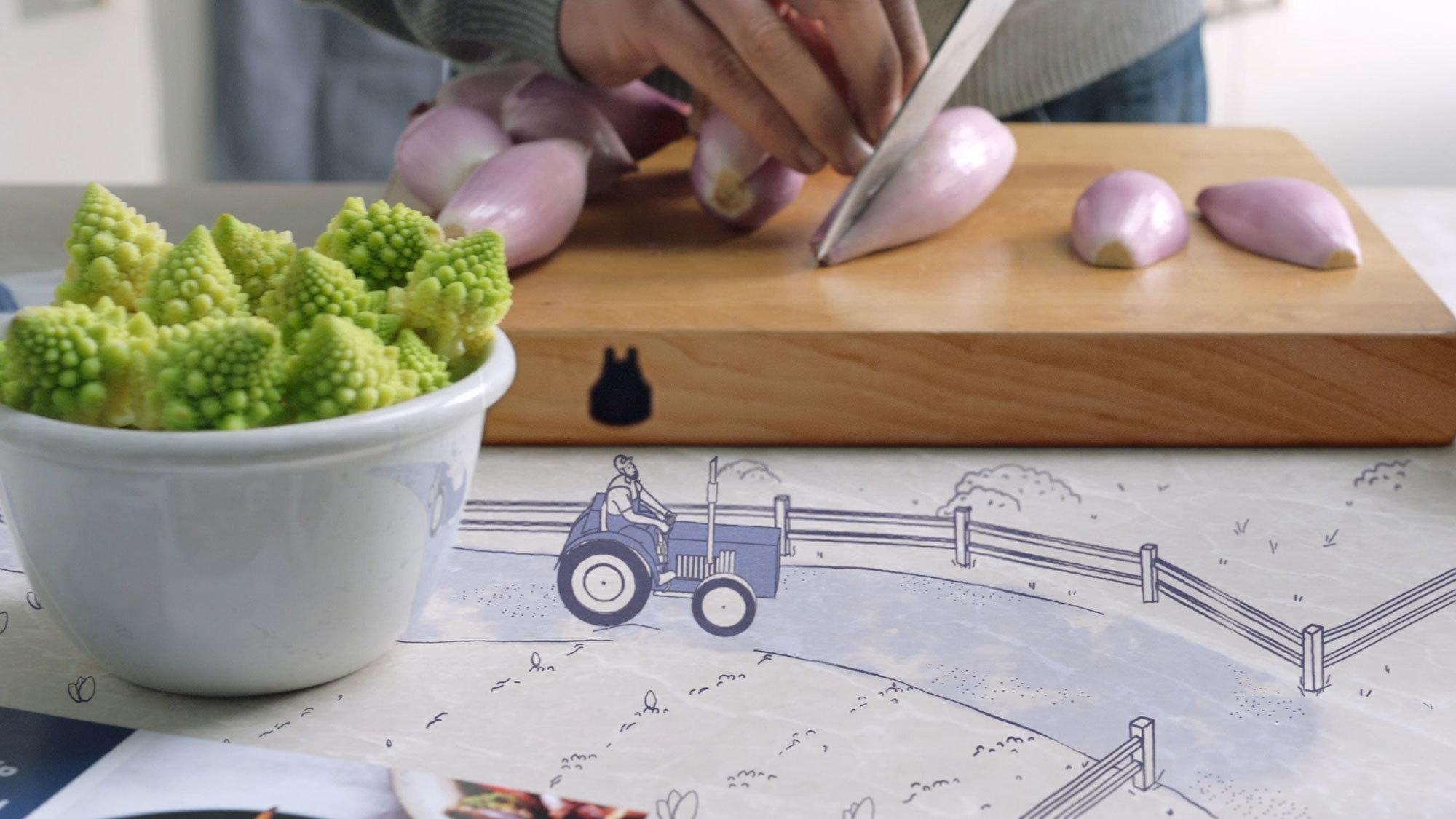 Blue apron vegetables - Take A Look At The Full Advert Here