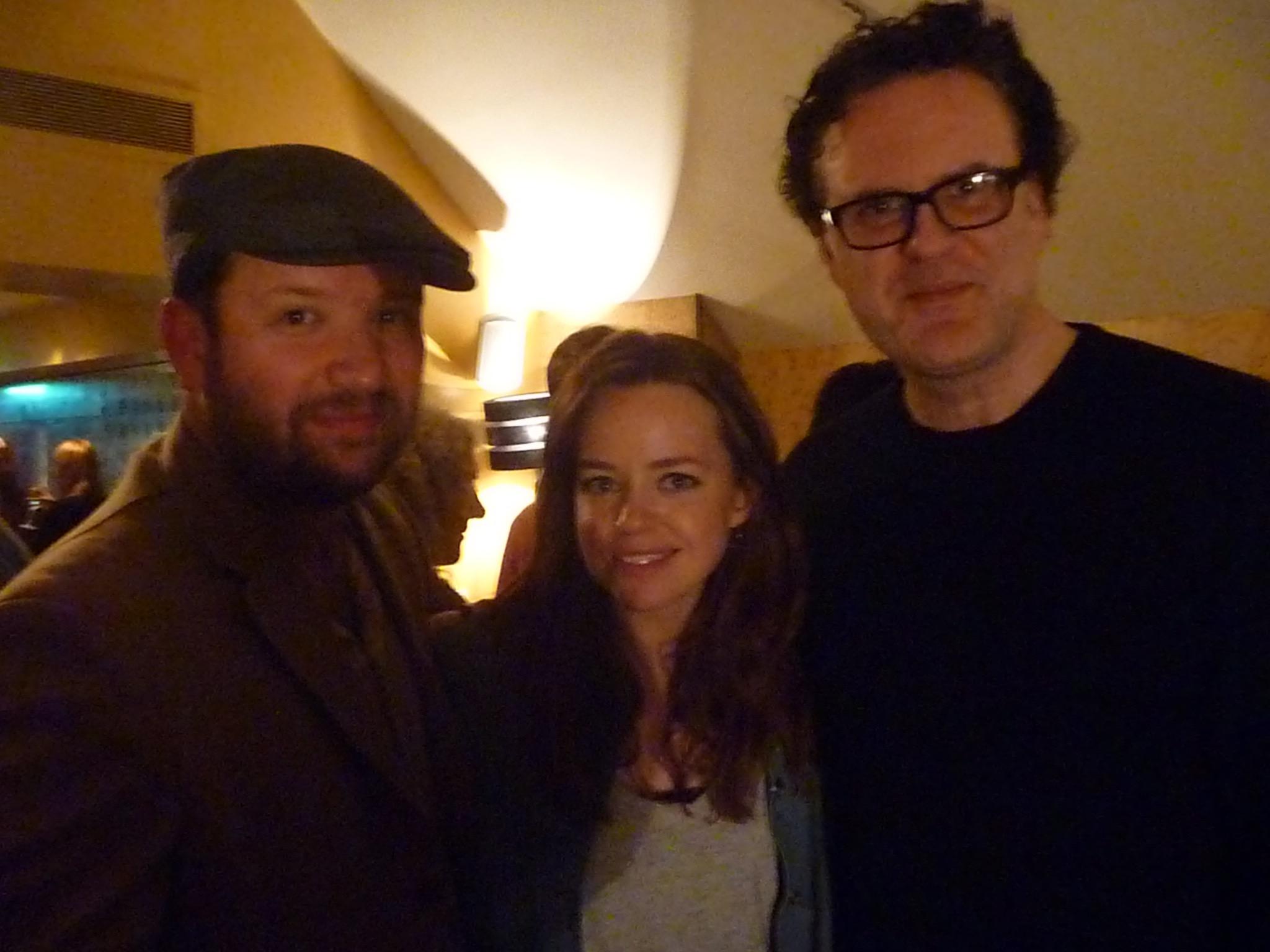 Director Ben Cogan, Director Ian Barnes and Actress Georgie Taylor at CCP Presents Networking Event