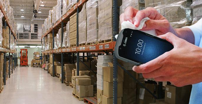 Hygiene-Ratgeber: Reinigung und Desinfektion von Mobilgeräten und stationären Devices