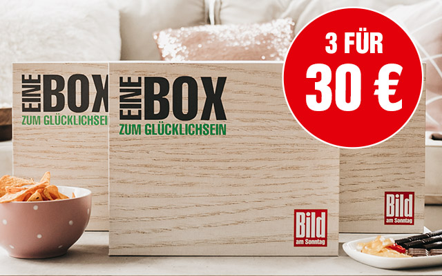 Pink Box - BILD am SONNTAG Box