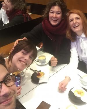 Der traditionelle leckere Besuch des Teams SupraTix in den Bäckereien Strasbourgs