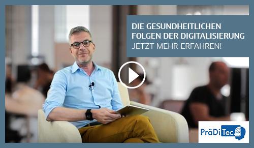 Trailer mit Dr. Michael Drees zum Projekt PräDiTec