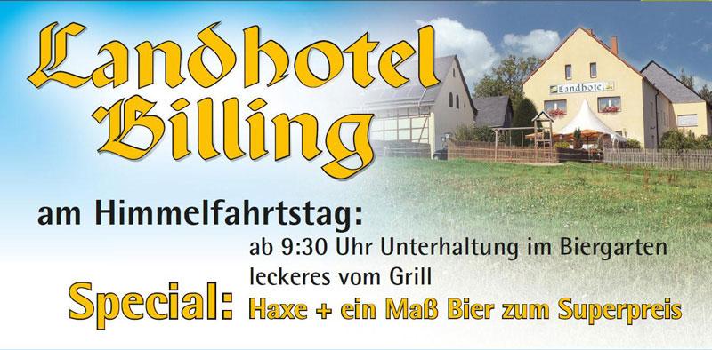 Himmelfahrt Landhotel Billing