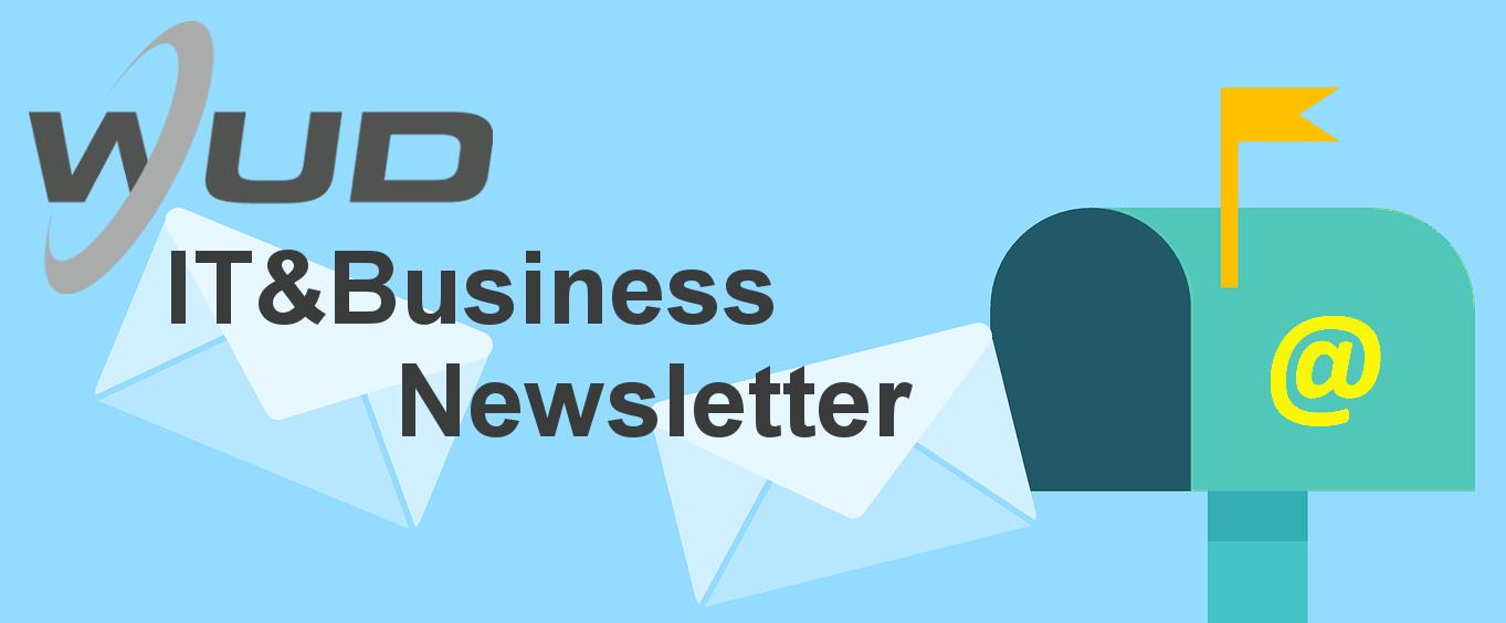 WUD Newsletter Anmeldung
