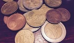 diverse Cent- und Euromünzen