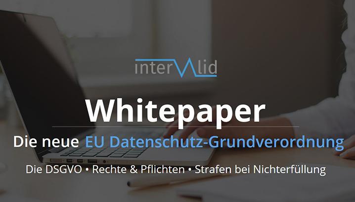 Whitepaper Datenschutz-Grundverordnung