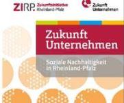 """Broschüre """"Zukunft Unternehmen: Soziale Nachhaltigkeit in Rheinland-Pfalz"""""""