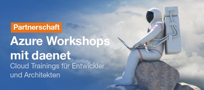 Azure Trainings in Kooperation mit daenet GmbH