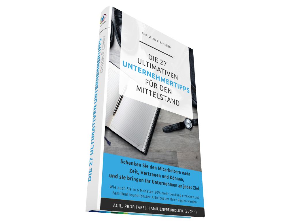 E-Book Die 27 ultimativen Unternehmertipps für den Mittelstand
