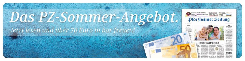 Das PZ Sommerabo! Jetzt lesen und über 70 Euro in bar freuen.