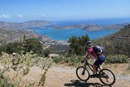 Mountainbiken bei Elounda, Kreta Kreta